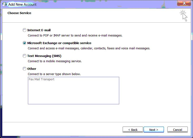 How to manually configure outlook 2010 for office 365 - Office 365 server settings for outlook 2010 ...