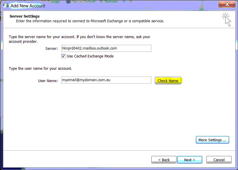 How to manually configure Outlook 2010 for Office 365