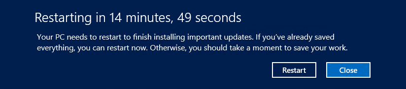 automatic updates windows server 2012