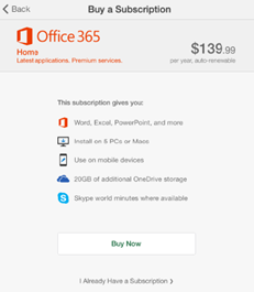 How to connect your Office365 subscription on your iPhone or