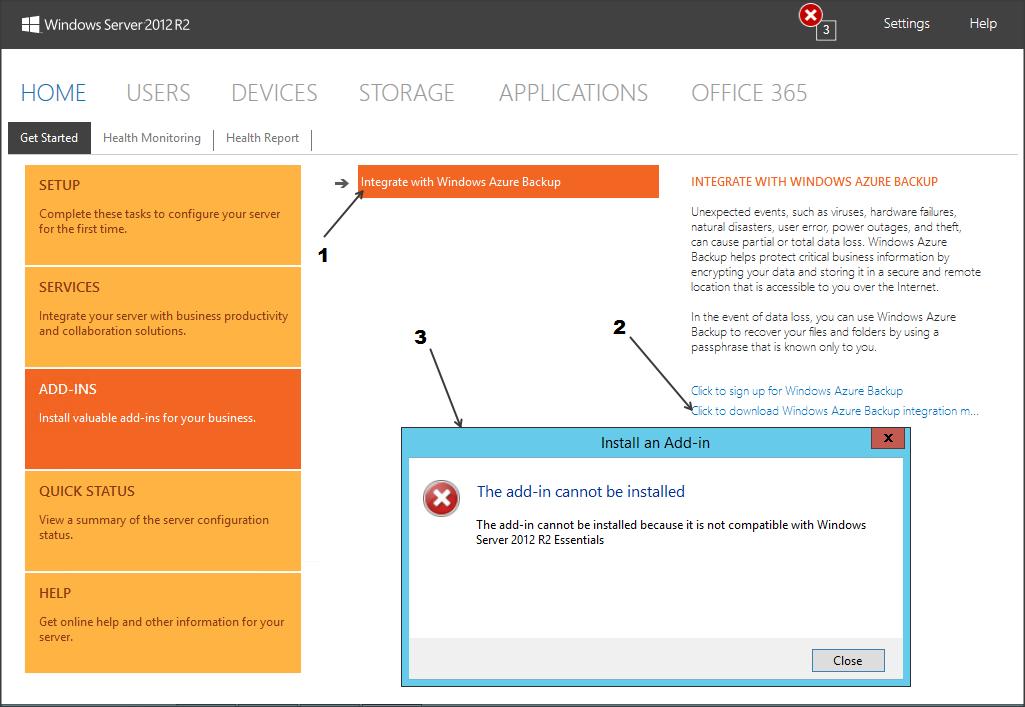 Configuring Microsoft Azure Online Backup on Windows Server