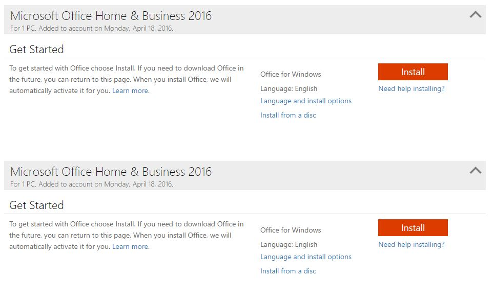 office 2016 home product key