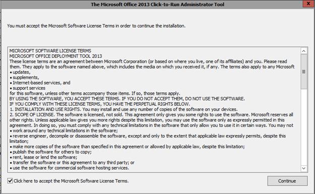 Office 365 ProPlus installeren op een terminal (RDS) server met Shared Computer Activation